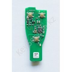 TA21 - PCB for Mercedes IR key fob case with chrome 315Mhz