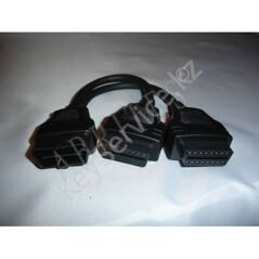 CB103 - OBDII Y cable M/2xF